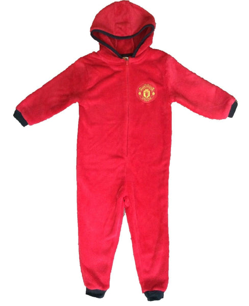 man united kids onesie