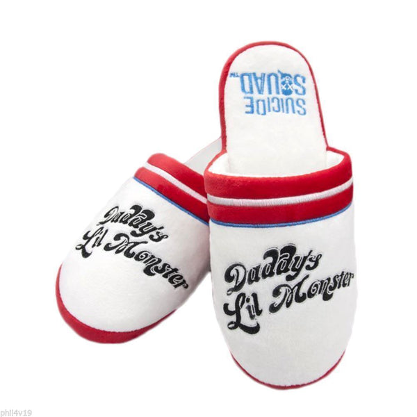 Suicide Squad Daddys little monster Slippers
