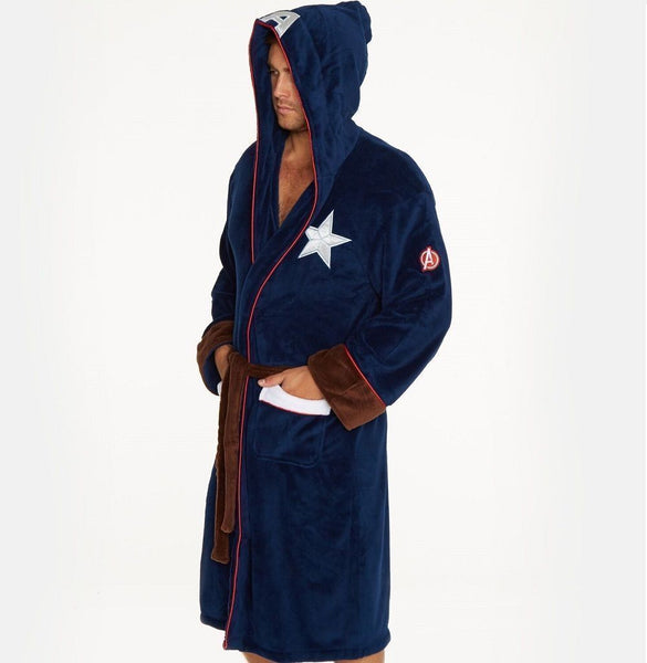 Captain America Dressing Gown / Bathrobe (Civil war affinity wars range)