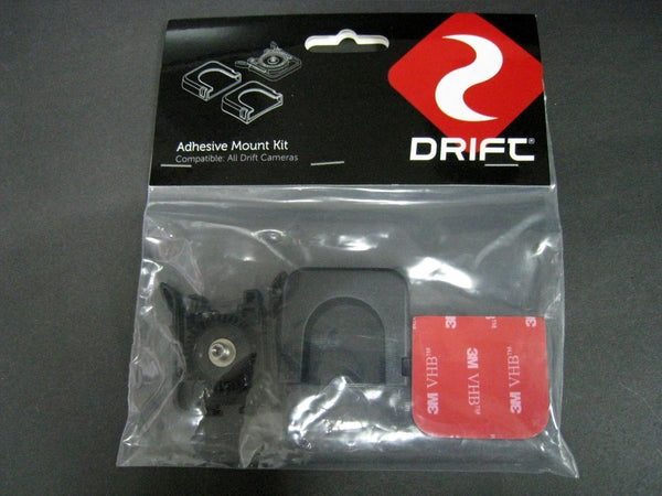 Drift adhesive camera mount kit