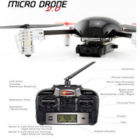 Extreme fliers micro drone 2.0 and accessories