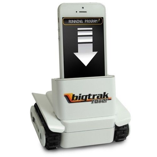 Bigtrak Rover (remote android iphone smartphone controlled rc robot car)