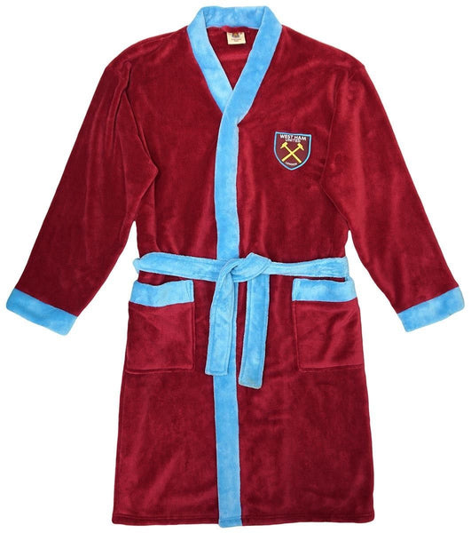 west ham dressing gown