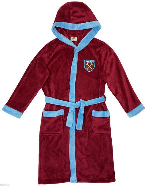 West Ham Childrens Dressing Gown