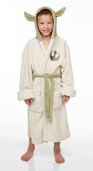 kids yoda dressing gown