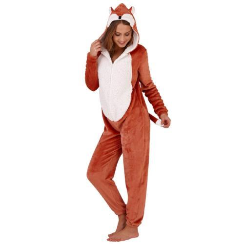 Ladies Novelty Fox Onesie