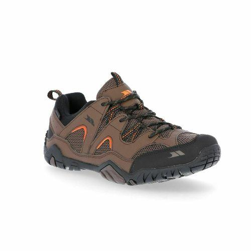 Mens Trespass Helmey II Walking Shoes Hiking Trainers Boots