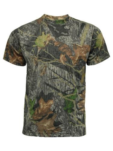 Moss Camouflage T Shirt