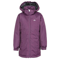 Girls Trespass Primula Padded Water Resistant School Jacket