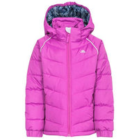 Trespass \'Sheer\' Girls Waterproof Padded Jacket