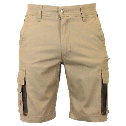 Mens Cargo Combat Multipocket Contrasted Work Shorts