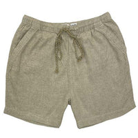 Womens Casual Summer Linen Shorts