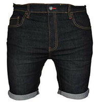 WestAce Mens Denim Chino Shorts
