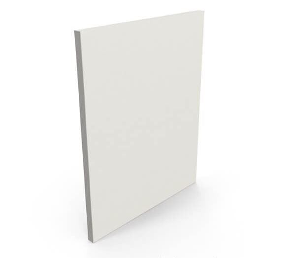 blank artist canvas thin edge