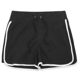 Ladies Interlock Contrast Gym Jersey Shorts