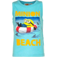 Boys Cotton Summer Top Beach Sleeveless T-Shirt