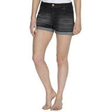 Ladies Washed Stretch Denim Beach Shorts