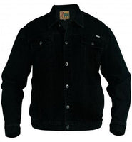 Duke Trucker Denim Jacket Black