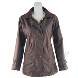 Ladies Game Fitted Antique Wax Jacket