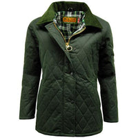 Game Zara Quilted Wax Jacket