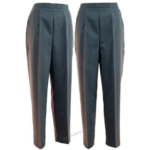 Ladies Grey Bowls Trousers