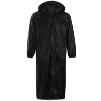 Long Plain Waterproof Rain Coat