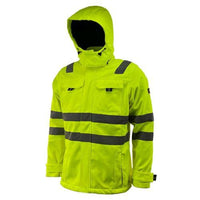 Mens Hi Vis Softshell Jacket - HV367