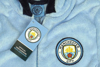 Boys Man City Onesie / Kids Manchester City jumpsuit