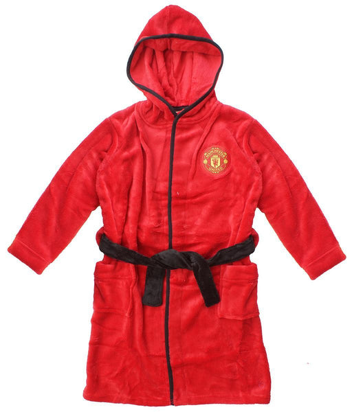 man united mens dressing gown