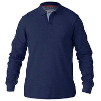 King Size Rickie Long Sleeve Polo Shirt