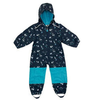 Kids Softshell Fleece Lined Rain Suit
