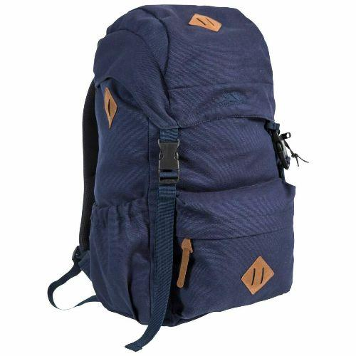 Unisex Trespass 30L Braeriach Backpack Canvas Work School Rucksack