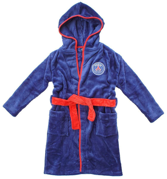 PSG childrens dressing gown / Paris Saint Germain kids bathrobe (childs boys)