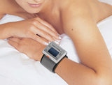 Shake n Wake Silent and Vibrating Travel Alarm Clock (Wrist Watch Deaf Aid)