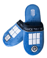 Doctor who Tardis Slippers / Mules