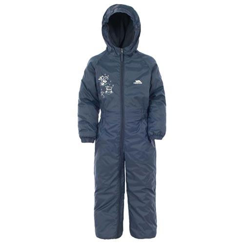 Kids Trespass Dripdrop Padded Waterproof All-In-One Suit