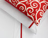 grosgrain trim pillowcases