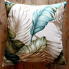 banana leaf barkcloth cushion covers