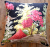 vintage retro  barkcloth cushion cover