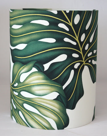 monstera leaf small lampshade