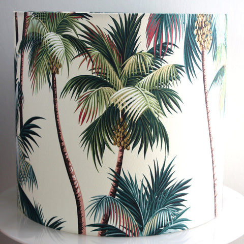 palm tree standard lampshade