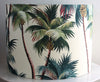 tropical barkcloth 30x20cm lampshades