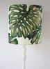 monstera leaf standard lampshade