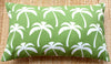palm tree green outdoor cushions
