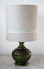 vintage khaki retro lamp/SOLD
