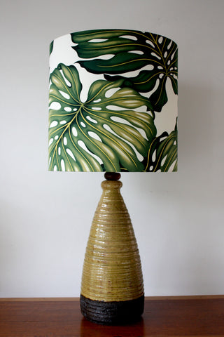 vintage retro textured lamp/SOLD