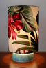 table lamp tropical hibiscus shade