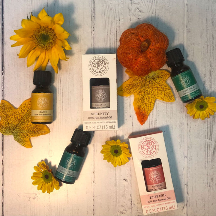 Aromatherapy for a Cozy Autumn
