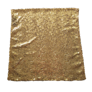 Gold Small Sequin Covered Pocket Square
