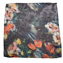 Load image into Gallery viewer, Sheer Watercolor Flower Pocket Square